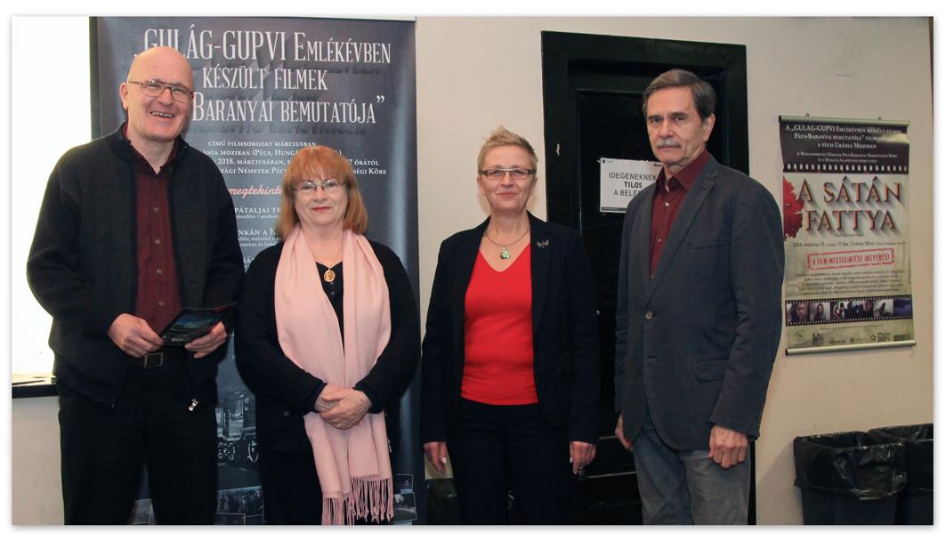Zsigmond Dezső (producer), Matkovits-Kretz Eleonóra, Rozsnyai Ilona, Buglya Sándor (producer)