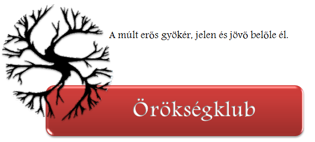 Örökségklub logo
