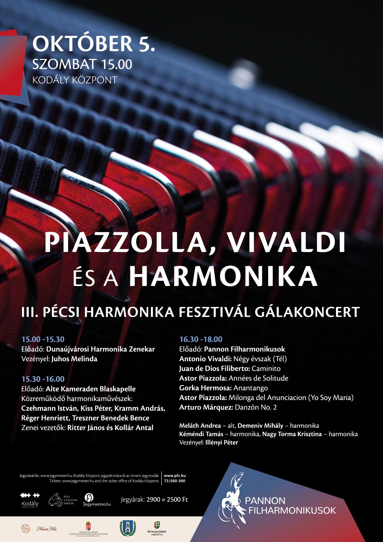 Plakát Gráf Orsi-harmonika feszt
