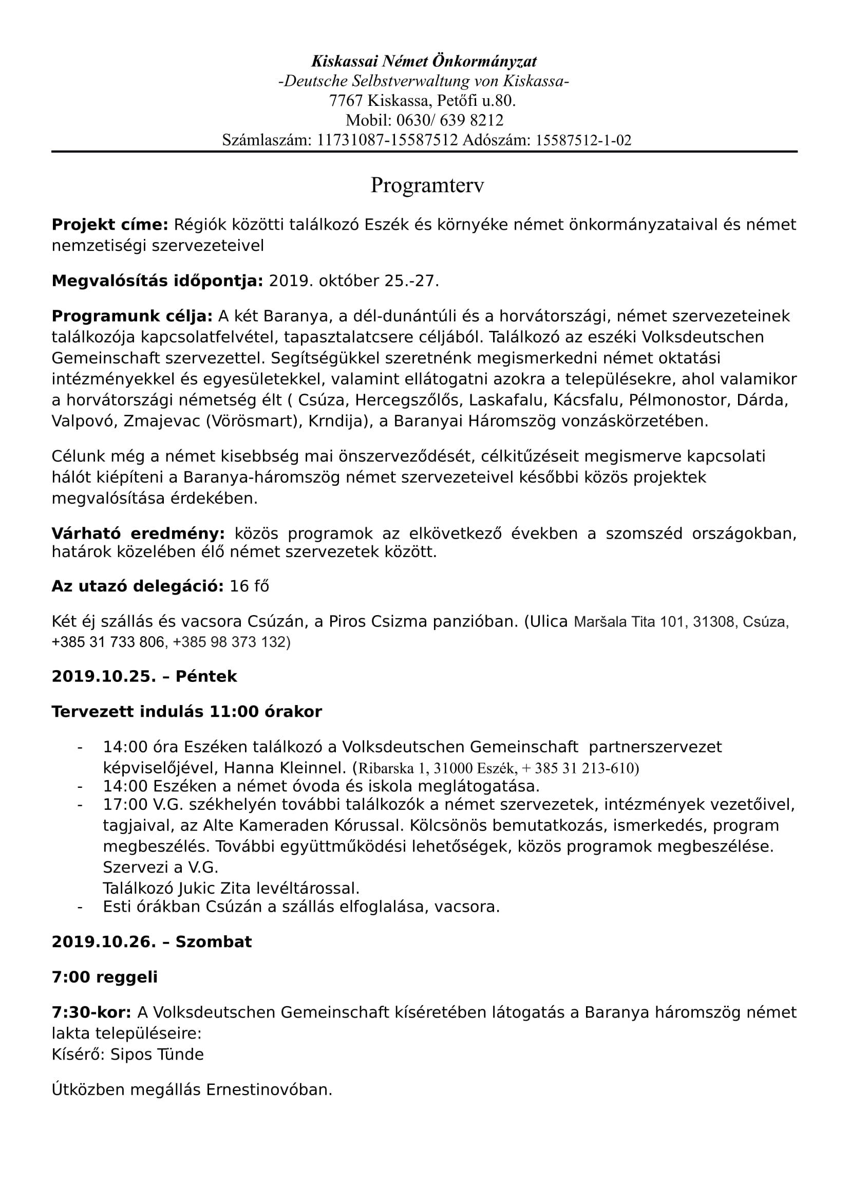 PROGRAMTERV, MAGYAR-1