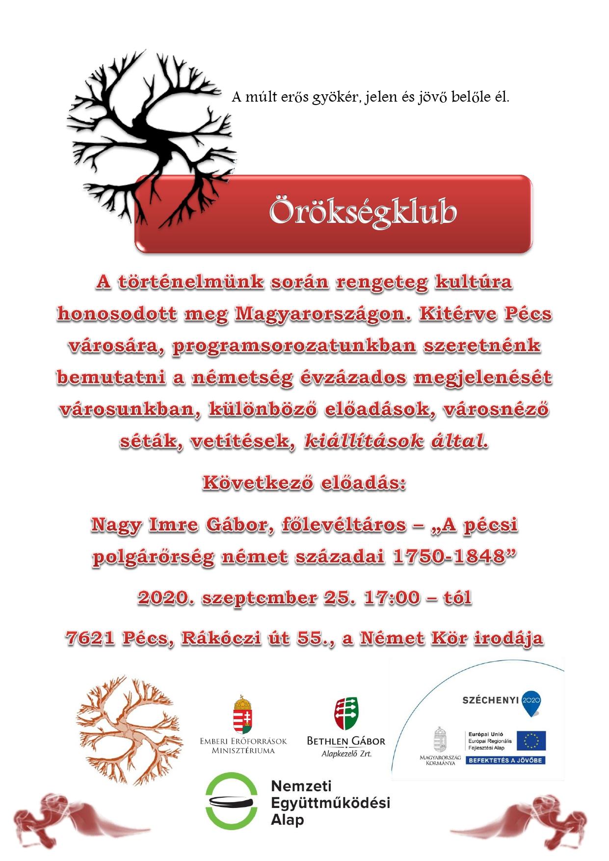 Plakát Örökségklub_Nagy Imre Gábor előadása_page-0001